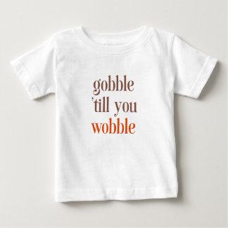 Camiseta Para Bebê Acção de graças