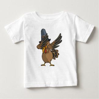 Camiseta Para Bebê Acção de graças engraçada de toque ligeiro do