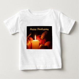 Camiseta Para Bebê Acção de graças feliz