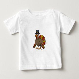 Camiseta Para Bebê Acção de graças Turquia