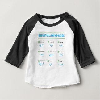 Camiseta Para Bebê Ácidos aminados essenciais