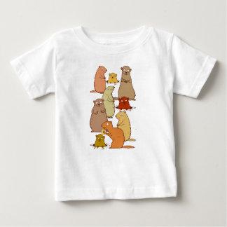 Camiseta Para Bebê Acorde Groundhogs!