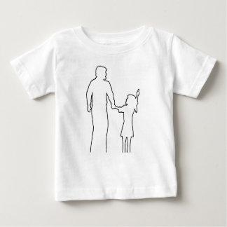 Camiseta Para Bebê Adulto dos jovens dos adolescentes das crianças