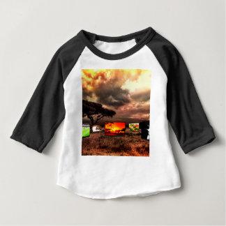 Camiseta Para Bebê África