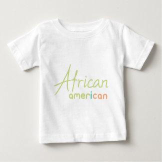 Camiseta Para Bebê Afro-americano