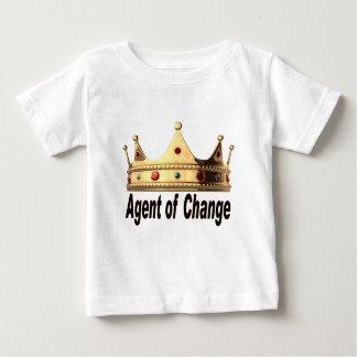 Camiseta Para Bebê Agente da mudança