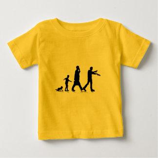 Camiseta Para Bebê Aging_7 humano