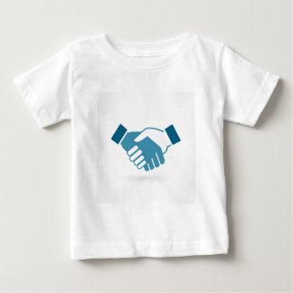 Camiseta Para Bebê Agitação da mão