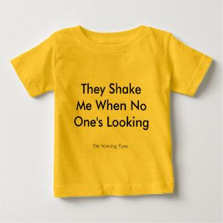 Camiseta Para Bebê Agitam-me