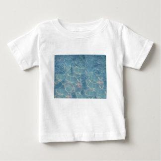 Camiseta Para Bebê Água do oceano