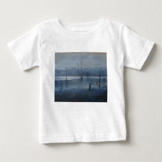 Camiseta Para Bebê Água enevoada