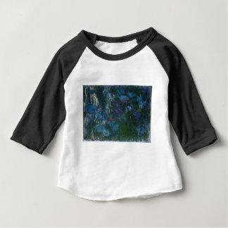 Camiseta Para Bebê Água Lillies