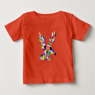Camiseta Para Bebê Águia do pássaro