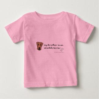 Camiseta Para Bebê airedale