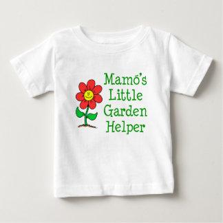 Camiseta Para Bebê Ajudante do jardim de Mamo pouco