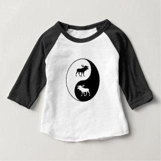 Camiseta Para Bebê Alces de Yin Yang