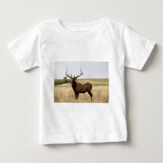 Camiseta Para Bebê Alces em pradarias canadenses