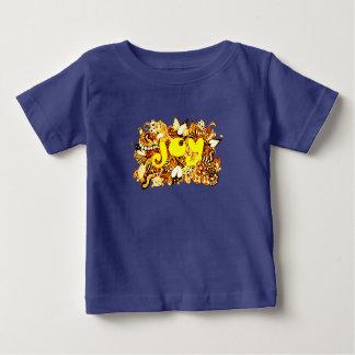 Camiseta Para Bebê Alegria 2
