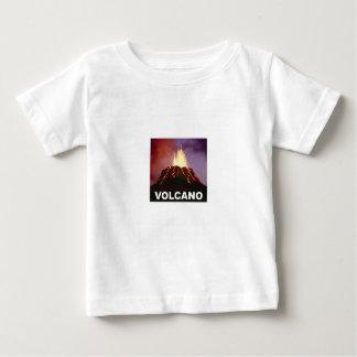 Camiseta Para Bebê Alegria do vulcão