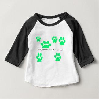 Camiseta Para Bebê Alemão - ogre