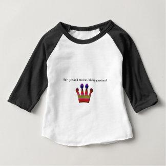 Camiseta Para Bebê Alemão - rei