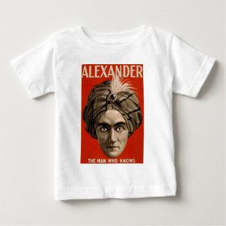 Camiseta Para Bebê Alexander sabe
