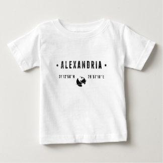 Camiseta Para Bebê Alexandria