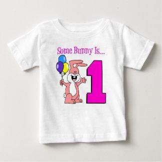 Camiseta Para Bebê Algum coelho é um