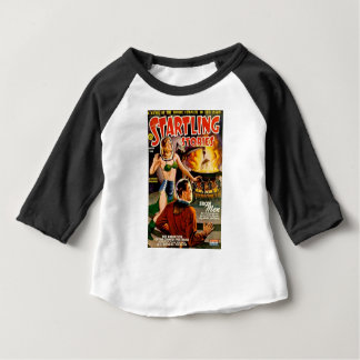 Camiseta Para Bebê Aliens do ferro