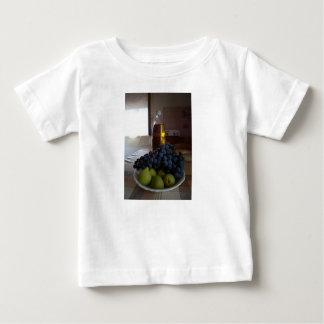 Camiseta Para Bebê Alimena, Sicília - T italiano do bebê da cozinha