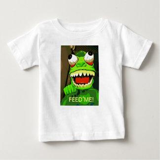 Camiseta Para Bebê Alimente-me!