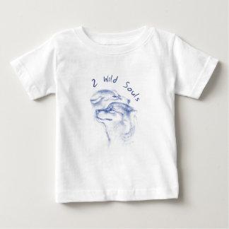 Camiseta Para Bebê almas selvagens
