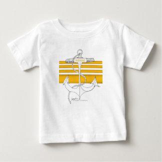 Camiseta Para Bebê almirante do ouro, fernandes tony