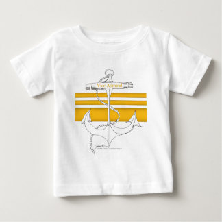 Camiseta Para Bebê almirante vice do ouro, fernandes tony