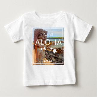 Camiseta Para Bebê Aloha nenhuns 50 Tiki