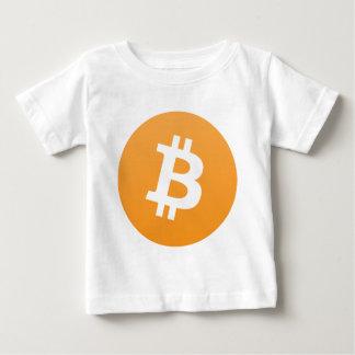 Camiseta Para Bebê Amante de Bitcoin