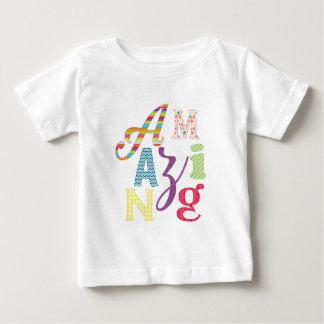 Camiseta Para Bebê amazing-01