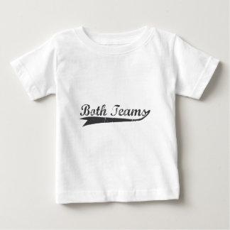 Camiseta Para Bebê Ambas as equipes