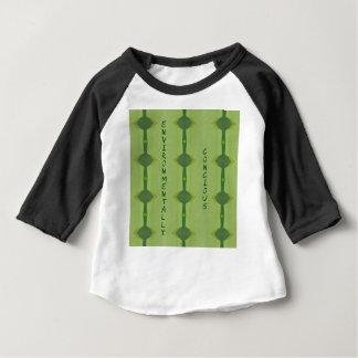 Camiseta Para Bebê Ambiental consciência verde indo