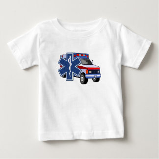 Camiseta Para Bebê Ambulância do EMS