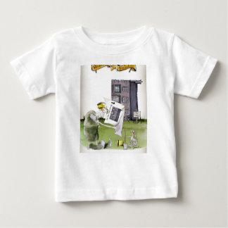 Camiseta Para Bebê ame ascendentes ey de yorkshire ', trabalhos um