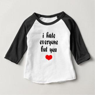 Camiseta Para Bebê Ame-o