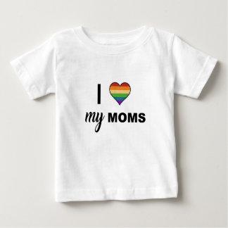 Camiseta Para Bebê Ame suas mães