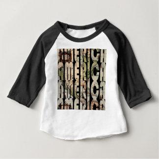 Camiseta Para Bebê america1610