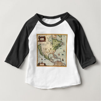 Camiseta Para Bebê América 1610