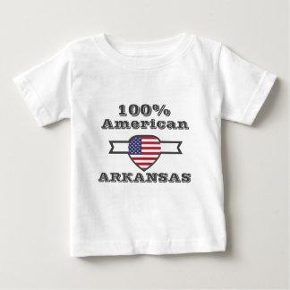 Camiseta Para Bebê Americano de 100%, Arkansas