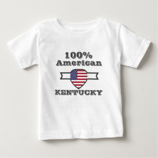 Camiseta Para Bebê Americano de 100%, Kentucky