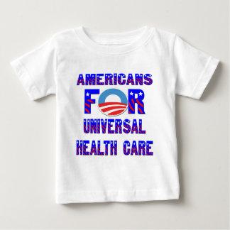 Camiseta Para Bebê Americanos para cuidados médicos universais