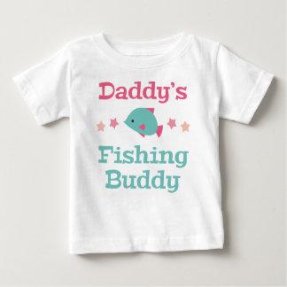 Camiseta Para Bebê Amigo da pesca do pai
