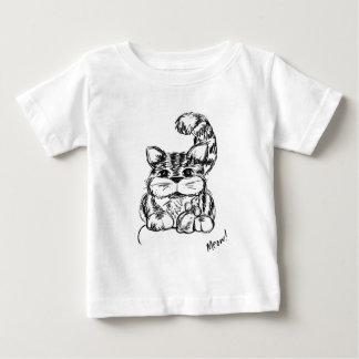 Camiseta Para Bebê Amigos improváveis gato e rato